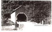 Covered Bridge - Hyder, Alaska AK Postcard