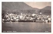 Birds Eye View - Ketchikan, Alaska AK Postcard