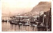 Trolling Boats - Ketchikan, Alaska AK Postcard
