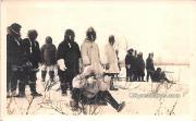 Rifle Shooting, Eskimos - Nome, Alaska AK Postcard
