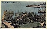 The Fishing Fleet - Ketchikan, Alaska AK Postcard