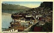 Up Tongass Narrows - Ketchikan, Alaska AK Postcard