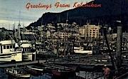 Greetings from Ketchikan - Alaska AK Postcard