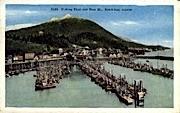 Fishing Fleet and Deer  - Ketchikan, Alaska AK Postcard