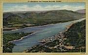 Tongass Narrows - Ketchikan, Alaska AK Postcard