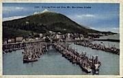 Fishing Fleet   - Ketchikan, Alaska AK Postcard