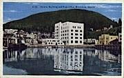 Federal Building and Post Office - Ketchikan, Alaska AK Postcard