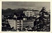 Real Photo - Hospital and School - Ketchikan, Alaska AK Postcard