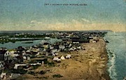 Birdseye View of Nome - Alaska AK Postcard