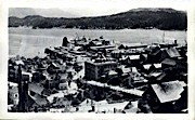 Air View   - Ketchikan, Alaska AK Postcard