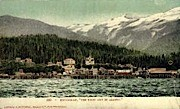 The First City in Alaska - Ketchikan Postcard