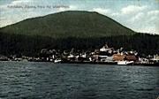Waterfront - Ketchikan, Alaska AK Postcard