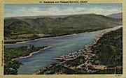 Ketchikan and Tongass Narrows - Alaska AK Postcard