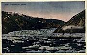 Taku Glacier - Alaska AK Postcard