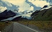 The Worthington Glacier - Alaska AK Postcard