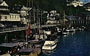 Salmon Fishing Season - Ketchikan, Alaska AK Postcard