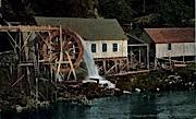 Waterwheel - Ketchikan, Alaska AK Postcard