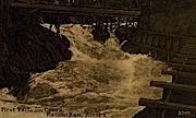 First Falls on Creek - Ketchikan, Alaska AK Postcard