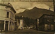 Mission Street - Ketchikan, Alaska AK Postcard