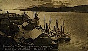 Steamers - Ketchikan, Alaska AK Postcard
