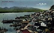 Ketchikan, Alaska, AK Postcard