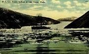 Co's Steamer Spokane - Taku Glacier, Alaska AK Postcard