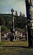 The Indian Ceremonial House - Ketchikan, Alaska AK Postcard