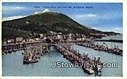 Fishing Fleet, Deer Mt. - Ketchikan, Alaska AK Postcard