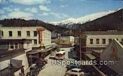 Main Street, Salmon Capitol - Ketchikan, Alaska AK Postcard