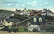 Real Photo - Nob Hill - Ketchikan, Alaska AK Postcard