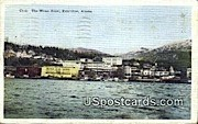 Water Front - Ketchikan, Alaska AK Postcard