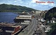 Ketchikan Postcard     ,     Ketchikan - Alaska AK