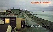 Arctic Ocean - Kotzebue, Alaska AK Postcard
