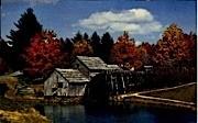 Mabry Mill - Blue Ridge Parkway, Virginia VA Postcard