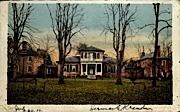 The James River - Brandon, Virginia VA Postcard