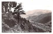 Mountain Panorama - Blue Ridge Parkway, Virginia VA Postcard