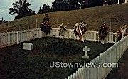 Grave Of JFK  - Arlington, Virginia VA Postcard