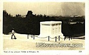 Tomb Of The Unknown Soldiers - Arlington, Virginia VA Postcard