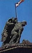 Flag Raising On Iwo Jima  - Arlington, Virginia VA Postcard