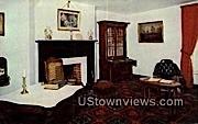 Parlour Reconstructed McLean House  - Appomattox County, Virginia VA Postcard