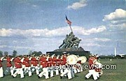 Us Marine Corps  - Arlington, Virginia VA Postcard