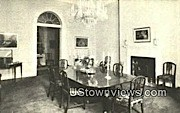 State Dining Room Lee Mansion  - Arlington, Virginia VA Postcard