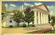 Custis-Lee Mansion - Arlington, Virginia VA Postcard