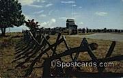 Rail Fences, Groundhog Mountain - Blue Ridge Parkway, Virginia VA Postcard
