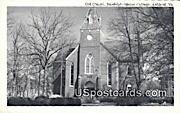 Randolph Macon College, Old Chapel - Ashland, Virginia VA Postcard