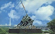 US Marine Corps War Memorial - Arlington, Virginia VA Postcard