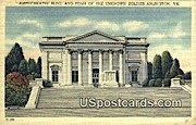 Tomb of the Unknown Solider - Arlington, Virginia VA Postcard