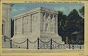 Tomb of Unknown Soldier - Arlington, Virginia VA Postcard