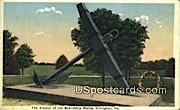 Anchor, Battleship Maine - Arlington, Virginia VA Postcard