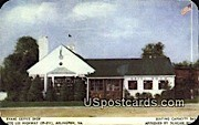 Evans Coffee Shop - Arlington, Virginia VA Postcard